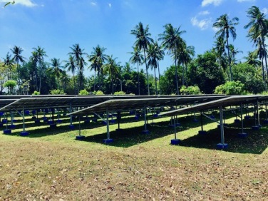 Solar Panels on Gili Air