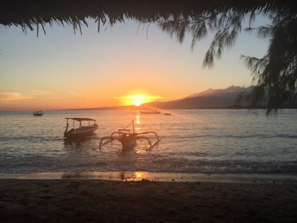Sunrise on Gili Air