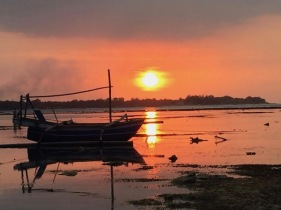 Another sunset opposite Mirage Bar Gili Air