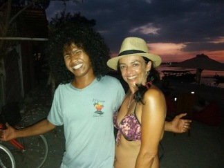 Evening at Mirage Bar on Gili Air