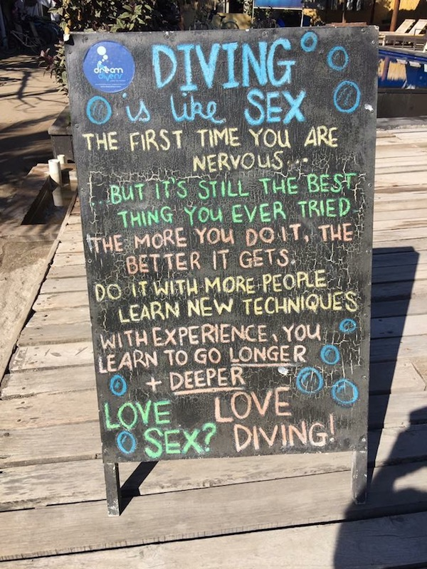 Humour on Gili Air