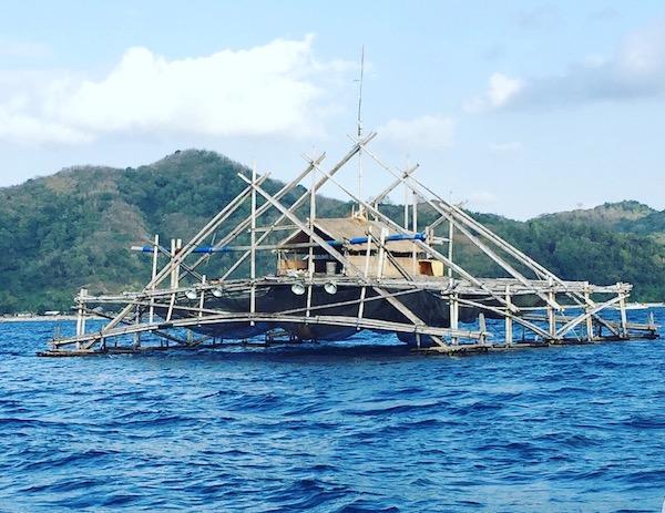Fishermen houses in Sekotong