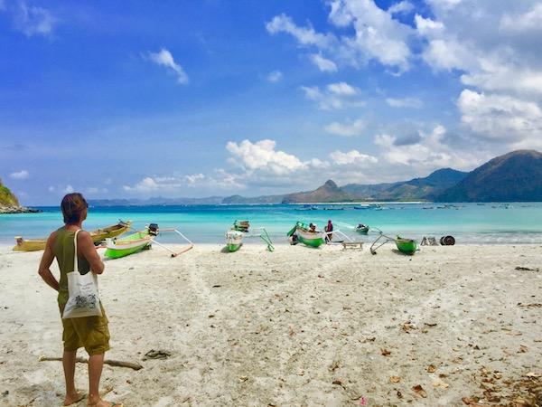 Selong Belanak Beach Kuta Lombok