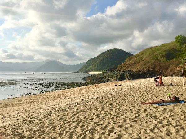 Mawi Beach Kuta Lombok