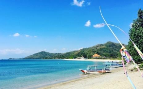 Beach next to Silver Fern in Tawun Village