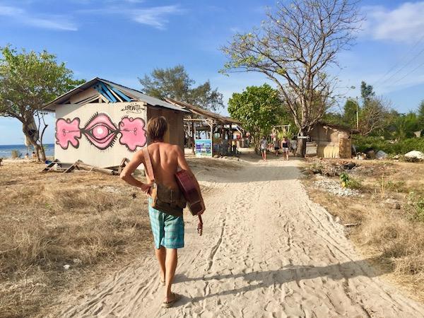 Walking Gili Air