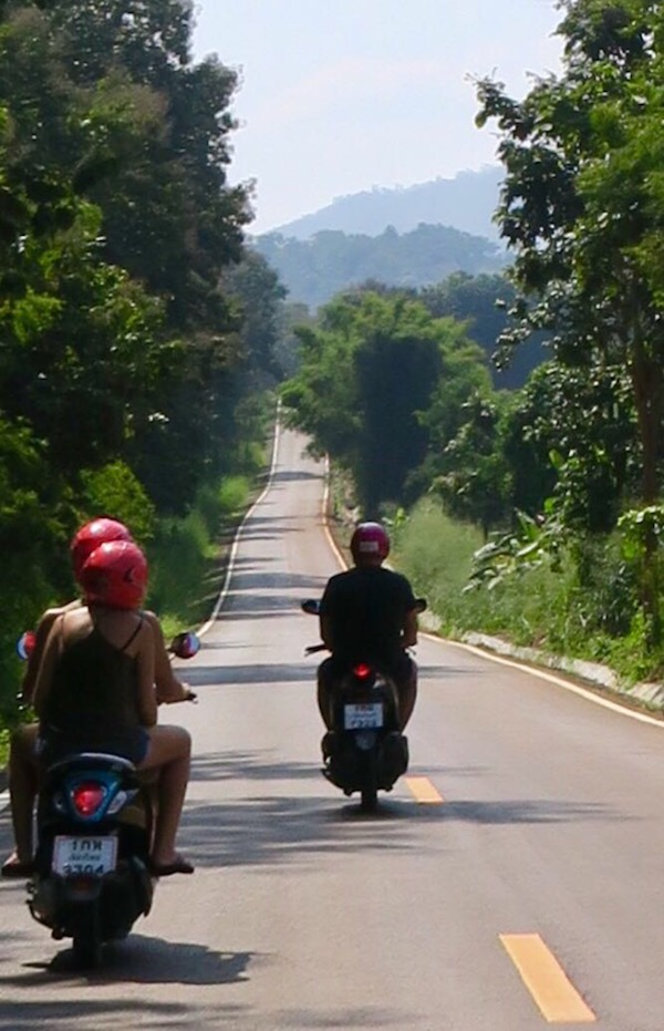 Journey to Pai on Scooters